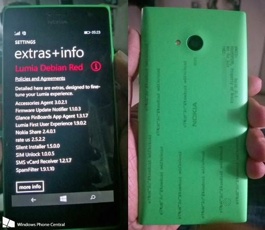 Ecco una prima immagine del nuovo Nokia Lumia 730. Prime caratteristiche svelate