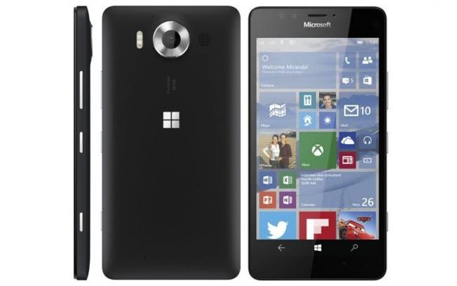 Lumia 950 black
