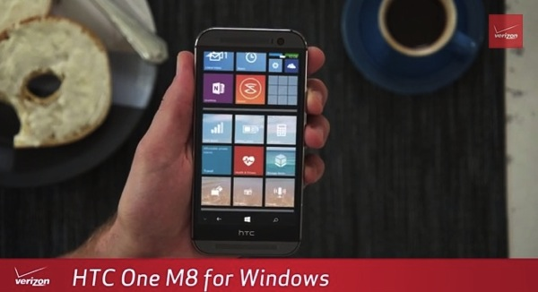 HTC One M8 con Windows Phone 8.1 Update disponibile in USA