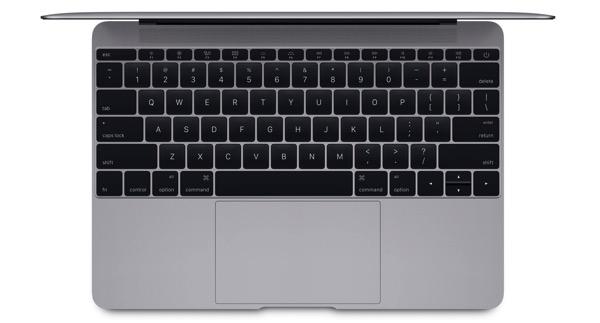 Macbook keyboard top