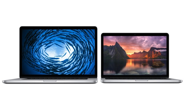 Apple aggiorna tutta la linea di MacBook Pro con display Retina