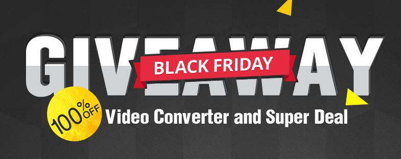 15 Giorni per avere gratis MacX Video Converter Pro in occasione del Black Friday 2017