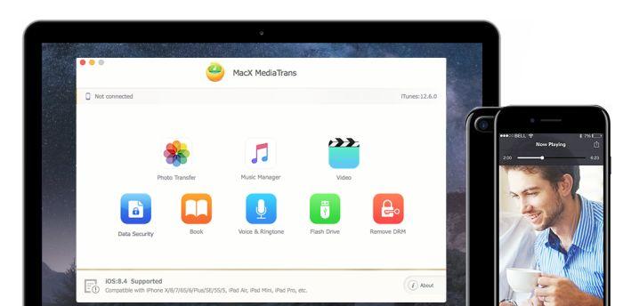 1 Grande Programma Gratis: MacX MediaTrans arriva in un Giveway dedicato per festeggiare iOS 12 ed il nuovo iPhone XS