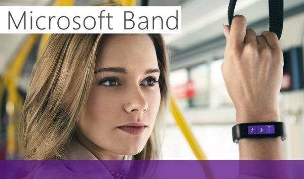 Microsoft Band lo smartwatch e bracciale di fitness. Scopriamolo con immagini, video e scheda tec...