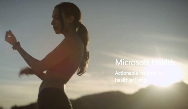 Microsoft Health ecco la piattaforma per il fitness nel cloud
