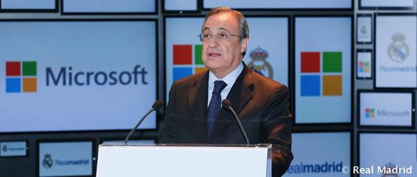 Real Madrid C.F. e Microsoft insieme per accelerare la trasformazione digitale del club