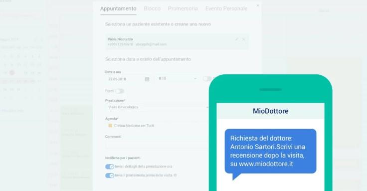MioDottore 2019 da record: quasi raddoppiate le prenotazioni di visite mediche e team in espansione