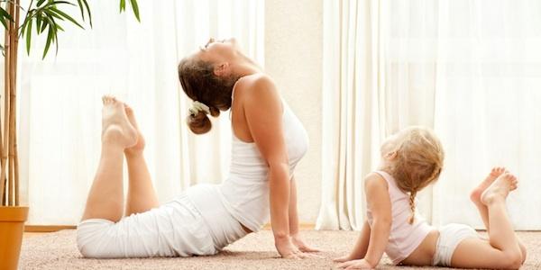 Mom yoga
