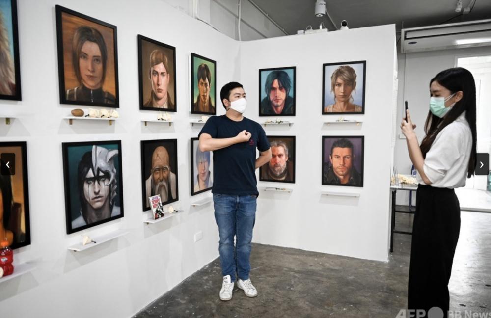 Esiste una mostra per commemorare i personaggi manga morti