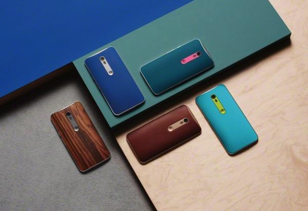 Motorola presenta Moto X Style, Moto X Play e Moto G 2015 (Gen 3). Ecco schede tecniche, immagini e video