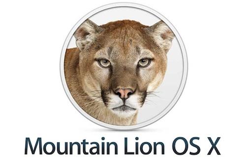 Mountain lion osx