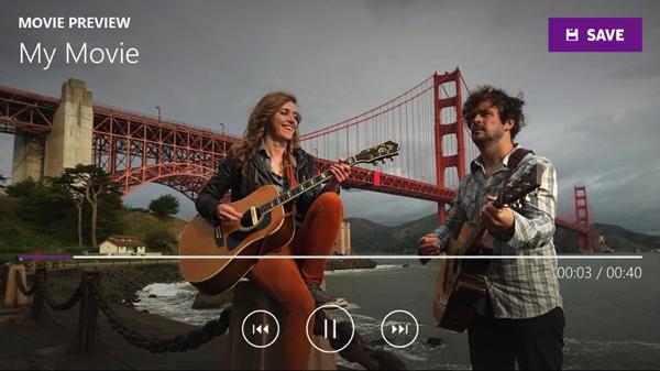 Movie Creator BETA l'editing video completo e facile su Windows Phone 8.1 e Windows 8.1