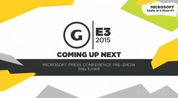 MS Press Conference E3