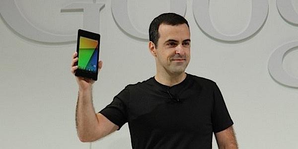 Nexus7 hand google