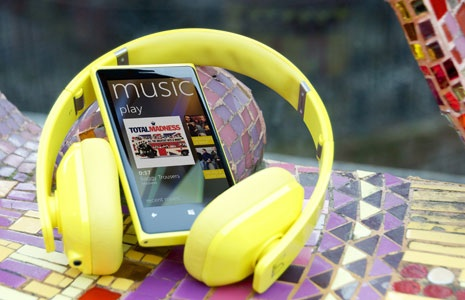 Nokia music plus head