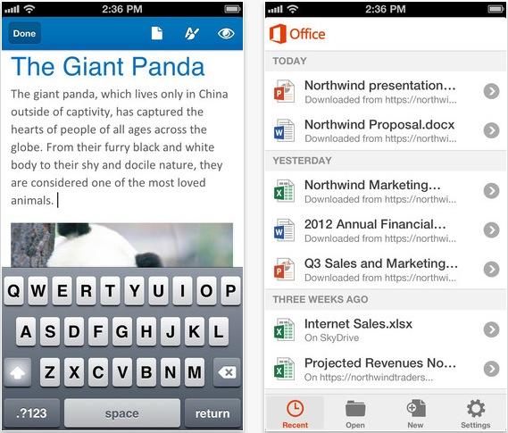 Office Giant panda iPhone