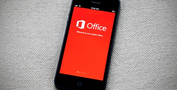 Office mobile iphone5