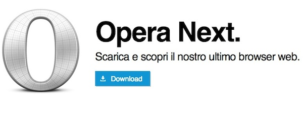Opera next download