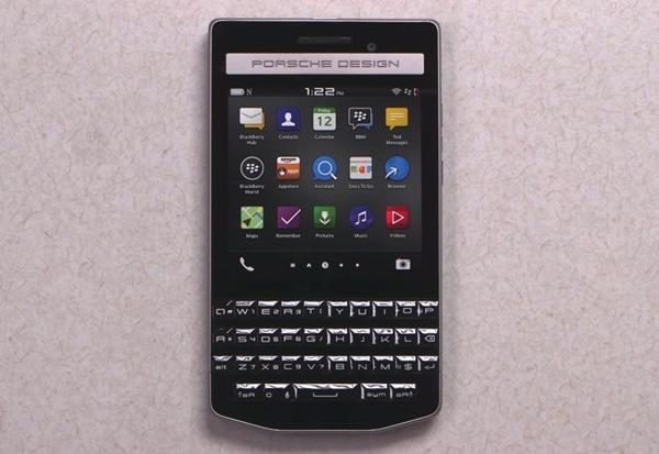 Porsche Design e Blackberry presentano Porsche Design P�9983. Ecco specifiche tecniche, immagini e video