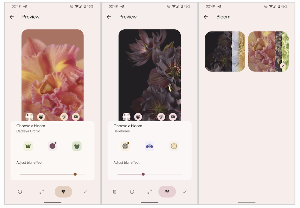 Download dei Live Wallpapers trapelati dal nuovo Google Pixel 6