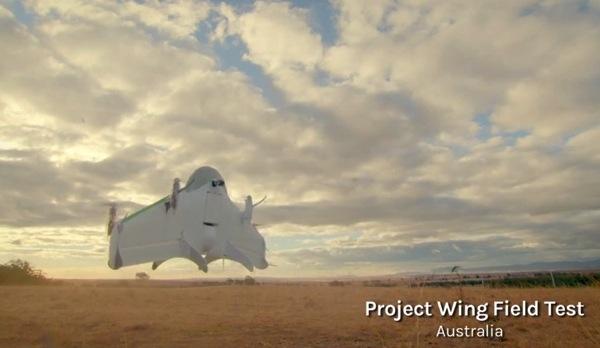 Ecco Project Wing, il progetto di Google X per consegne aeree tramite droni