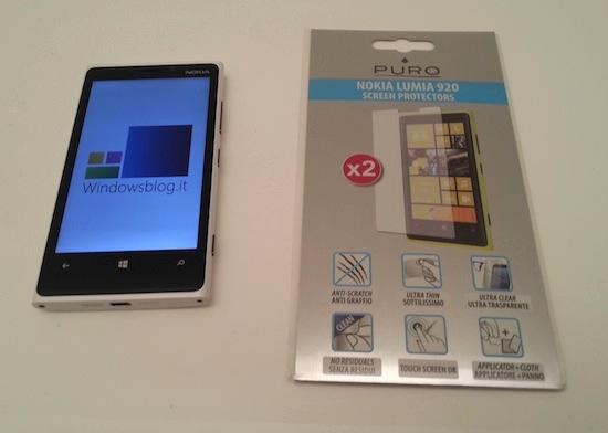 Puro lumia920 screen