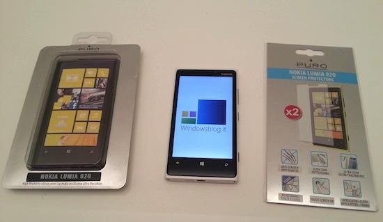 Puro lumia920 screen silicon cover