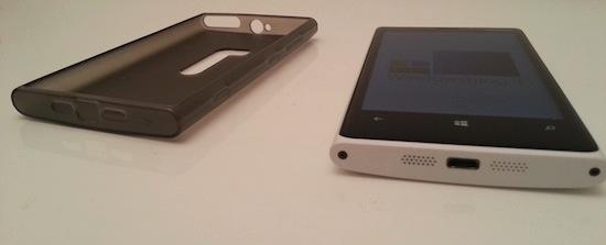Puro lumia920 silicon cover side