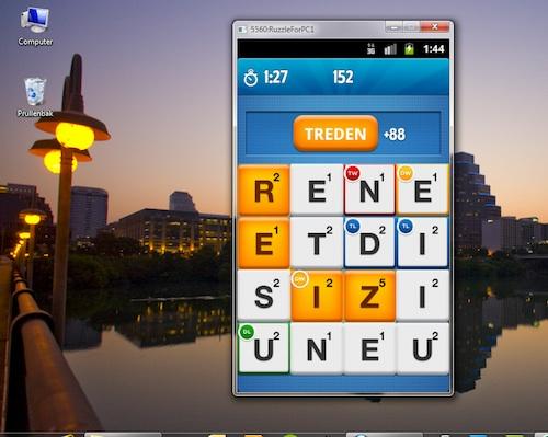 Ruzzle for pc