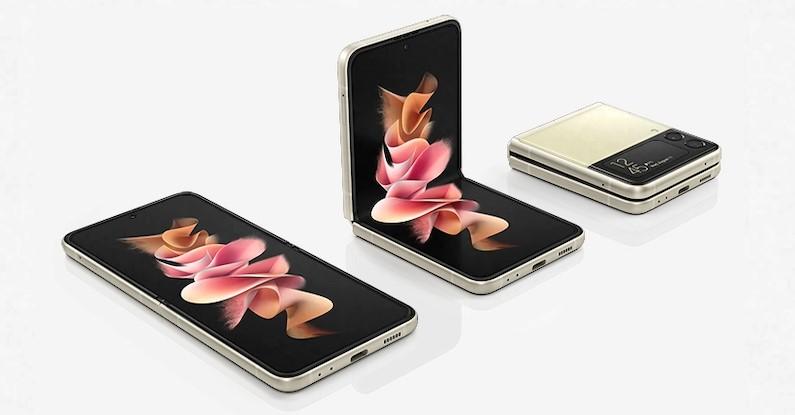 Download degli sfondi ufficiali dei nuovi Samsung Galaxy Z Flip 3 e Samsung Galaxy Z Fold 3