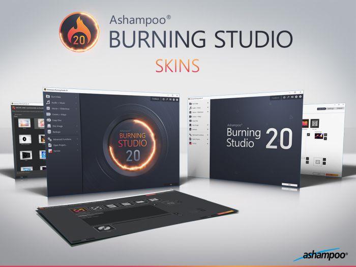 20° Versione per Ashampoo Burning Studio