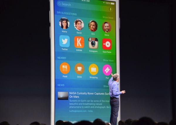 Siri panel