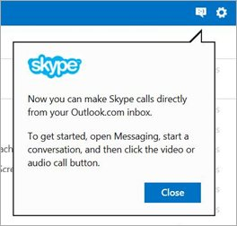 Skype Outlook Direct