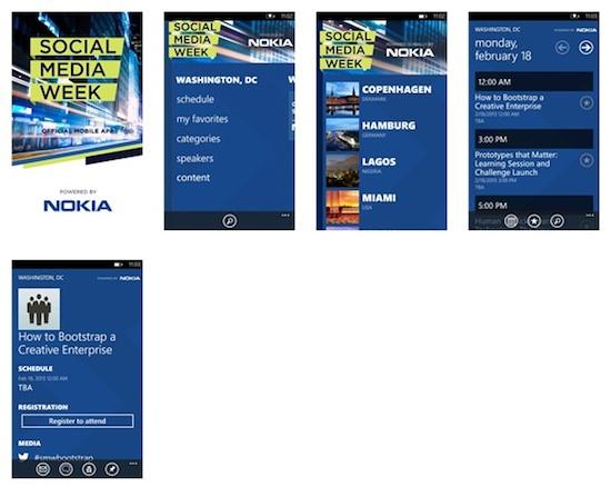 Social media week shot