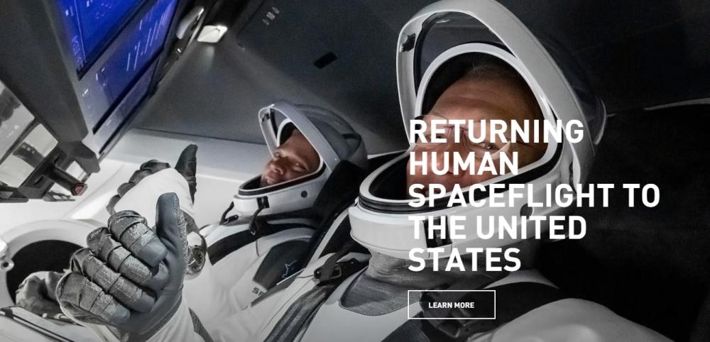 SpaceX: Un giro sul sito ufficiale lo merita con una visita completa!