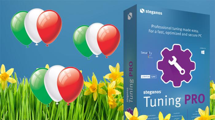 5 licenze gratis di Steganos Tuning Pro per un contest dedicato al 25 Aprile