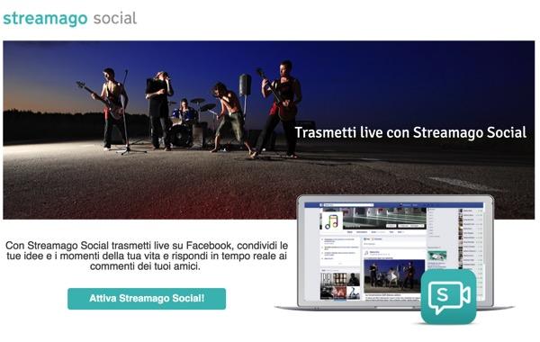 Nuove Feature per Streamago, l'app social di live Streaming di Tiscali