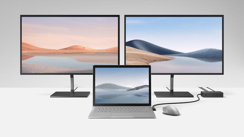Download degli sfondi ufficiali del nuovo Microsoft Surface Laptop 4