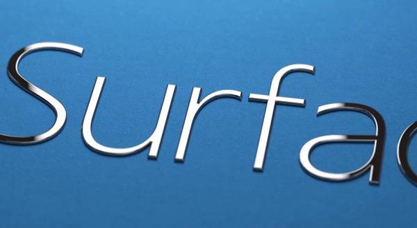 Surface 3 blu