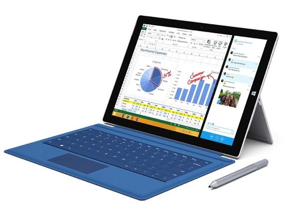 Microsoft annuncia l'arrivo di Surface Pro 3 in Italia da oggi 28 Agosto 2014