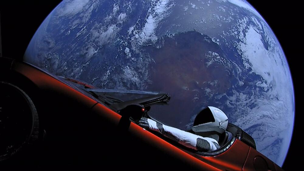 Dove si trova Starman e la sua Tesla? Un sito ci dice dove