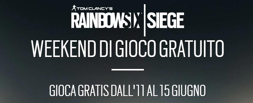 Tom Clancy's Rainbow Six Siege gratis dal 11 al 15 Giugno 2020