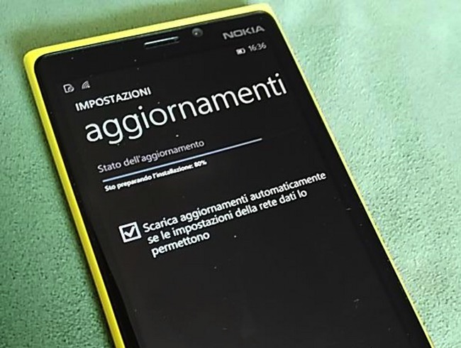 Windows 10 mobile Aggiornamenti