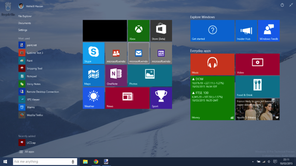 Download diretto Windows 10 Technical Preview Build 10041 in Italiano