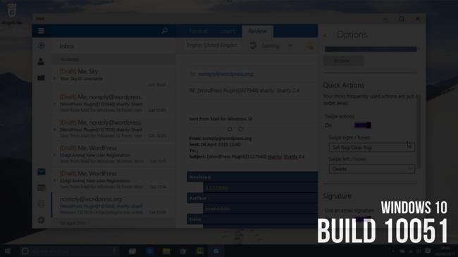 Windows 10 Build 10051