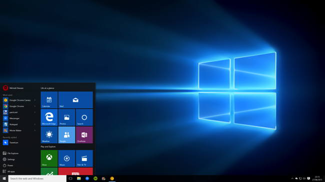 Windows 10 New Background