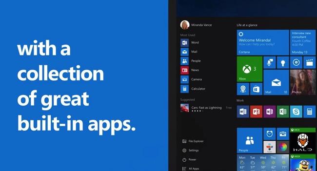 Windows 10 Spot
