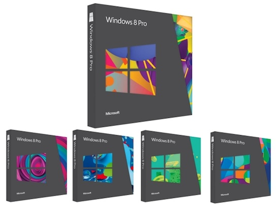Windows8 pro packs