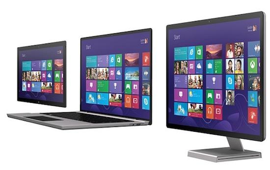 Windows8 screens
