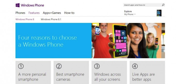 Windows Phone 8.1 Microsoft